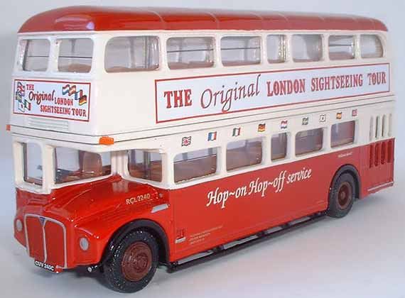 25604 RCL Routemaster ORIGINAL LONDON SIGHT SEEING TOUR.