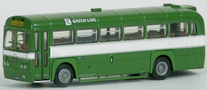 23206 AEC RF MkII Bus GREEN LINE NBC.