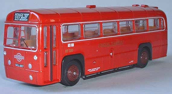 23315 AEC RF MK1 Bus LONDON TRANSPORT RED.