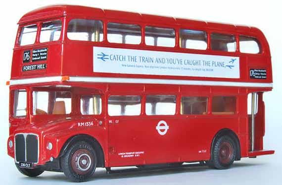 London Transport AEC Routemaster Park Royal RM1336