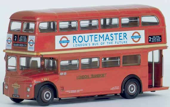31601	RM Prototype			(Revised Tooling) THE ROUTEMASTER SERIES.