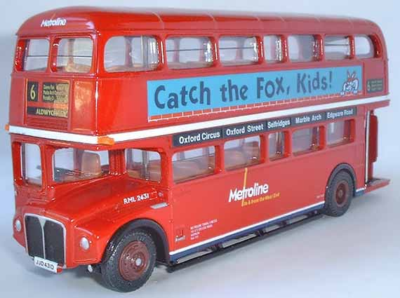 25504 METROLINE Routemaster