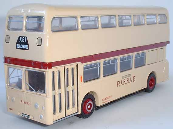 16521 Leyland Atlantean RIBBLE WHITE LADY.