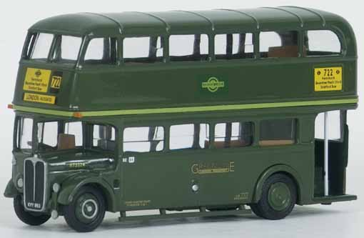 10133 AEC RT Bus GREEN LINE