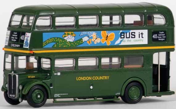 34102 AEC 3RT Bus LONDON COUNTRY.