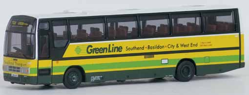 26616 Plaxton Paramount 3500 GREEN LINE (SOUTHEND).