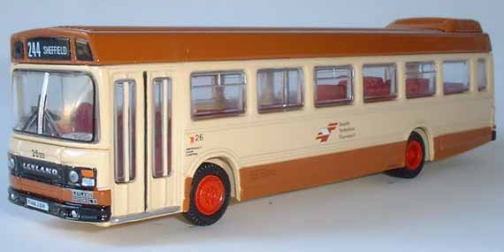 17502 Leyland National II Long SOUTH YORKSHIRE TRANSPORT.