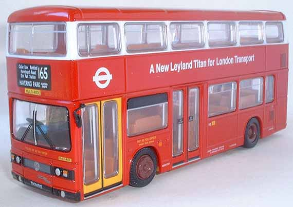 28801 Leyland Titan LONDON TRANSPORT.