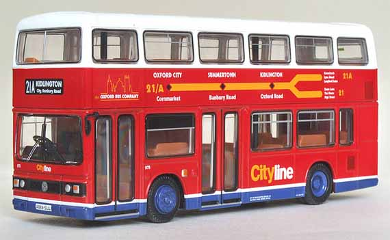 28818 Leyland Titan 2 Door OXFORD CITY LINE.
