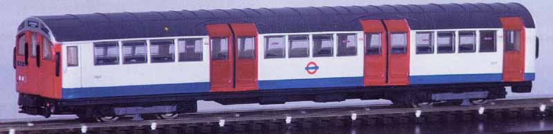 1959 NORTHERN LINE FOUR CAR UNIT OPERATING NORTHBOUND SERVICE TO EDGWARE VIA BANK