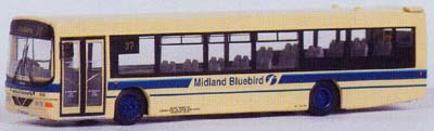 27505 Wright Scania Axcess MIDLAND BLUEBIRD