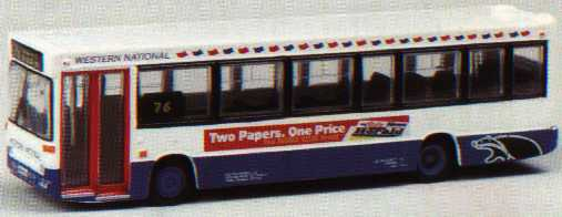20611 Plaxton Pointer/Dennis Dart WESTERN NATIONAL