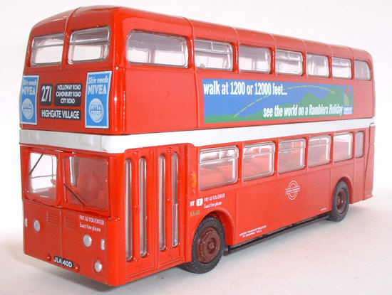 18108B Leyland Atlantean Park Royal Double Deck Bus LONDON TRANSPORT