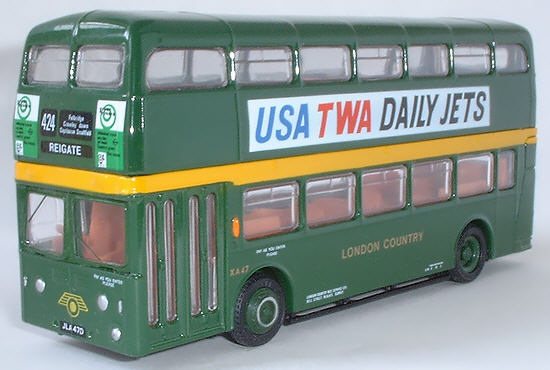 18104 Leyland Atlantean Park Royal Double Deck Bus LONDON COUNTRY.