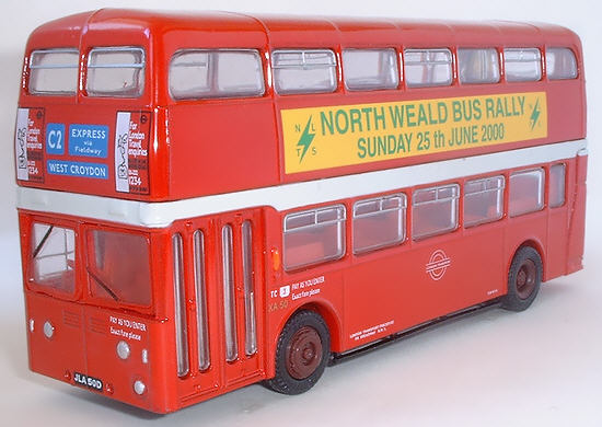 18108A Leyland Atlantean Park Royal Double Deck Bus LONDON TRANSPORT.