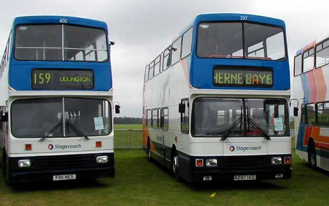 Stagecoach East Kent Olympian and United Counties Megadekka