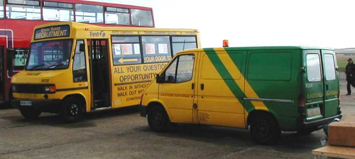 Eastern National Recruitment bus