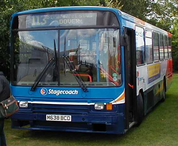 Stagecoach East Kent Volvo B10M Alexander PS 638