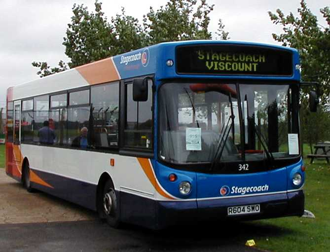 Stagecoach in South Wales Dennis Dart Alexander