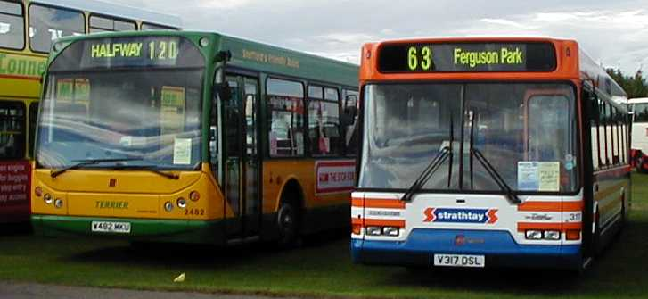 Strathtay Scottish Dennis Dart SPD East Lancs
