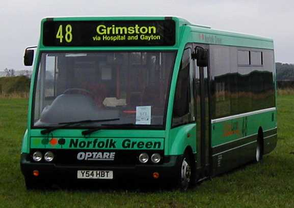 Norfolk Green Optare Solo
