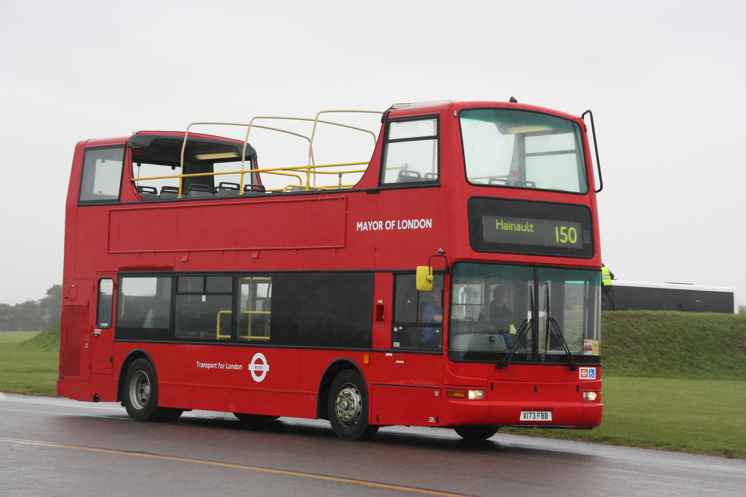 Mayor of London Volvo B7TL Plaxton President
