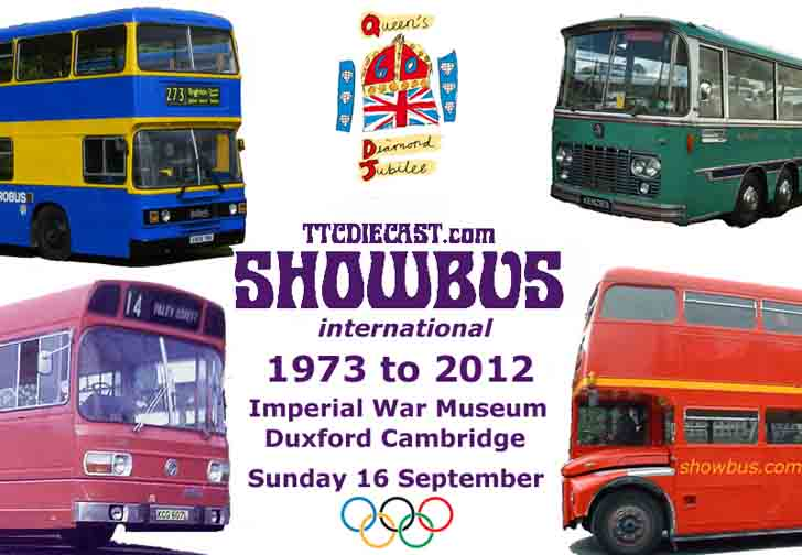 TTCDIECAST.com Showbus international 2012