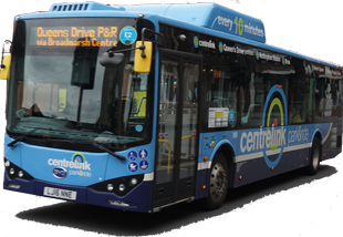Nottingham Community Transport eletric BYD bus