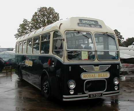 Royal Blue Bristol MW6G 617DDV