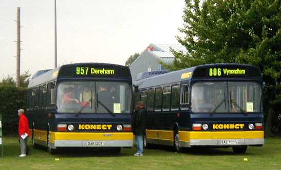 Konect Leyland Nationals DAR120T & SAE755S