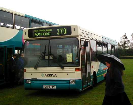 Arriva East Herts & Essex Dennis Dart SLF Plaxton Pointer 3259