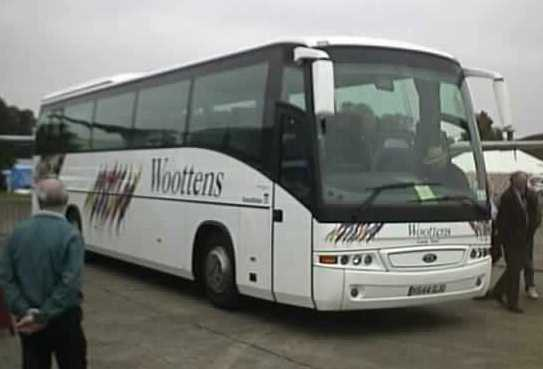 Woottens SHOWBUS winners 2002 Iveco Eurorider Beulas