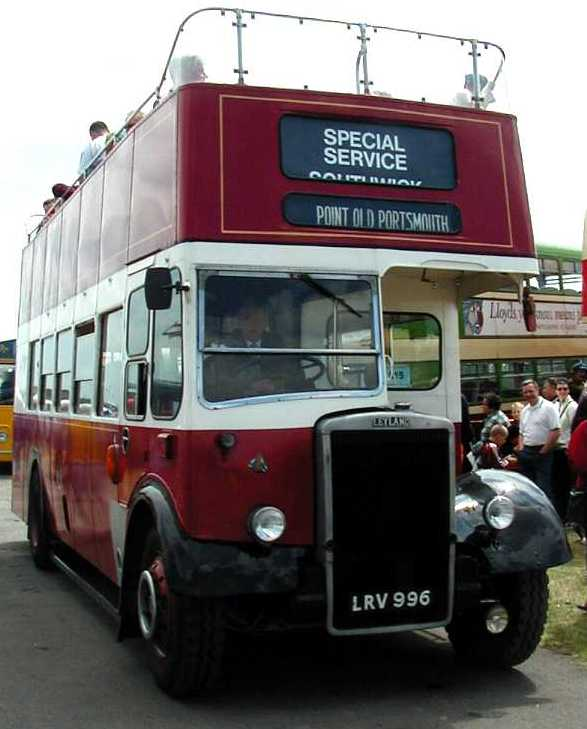 Portsmouth City Transport Leyland Titan