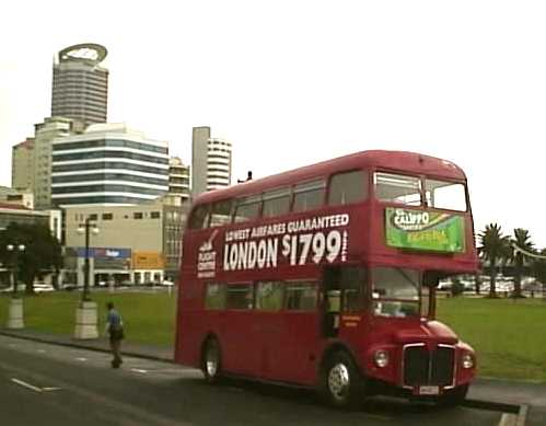 London Routemaster in Auckland