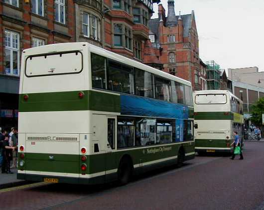 City of Nottingham Dennis Trident T420XVO