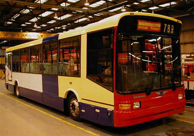 Warrington Dennis Dart SLF/Marshall