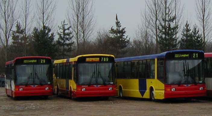 Warrington Dennis Dart SLFs/Marshall