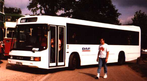 DAF bus Optare Delta G785PWL