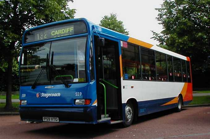 Stagecoach in South Wales Dennis Dart Marshall