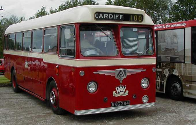 Western Welsh AEC Reliance Willowbrook