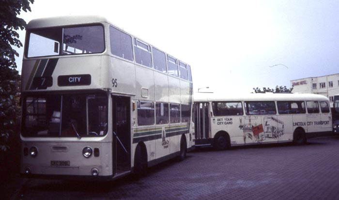 Lincoln City Daimler Fleetline