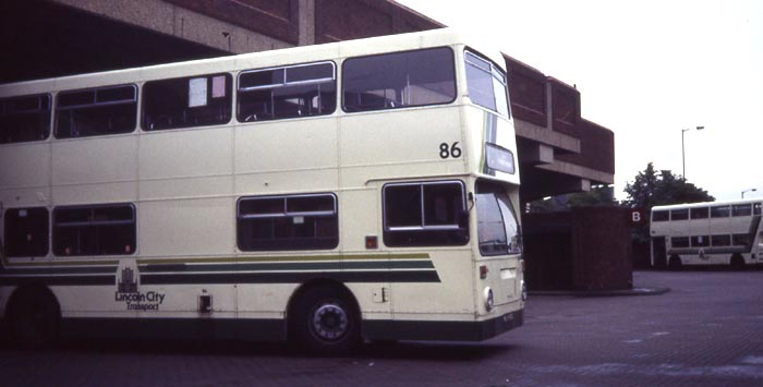 Lincoln City 86 Daimler Fleetline DMS