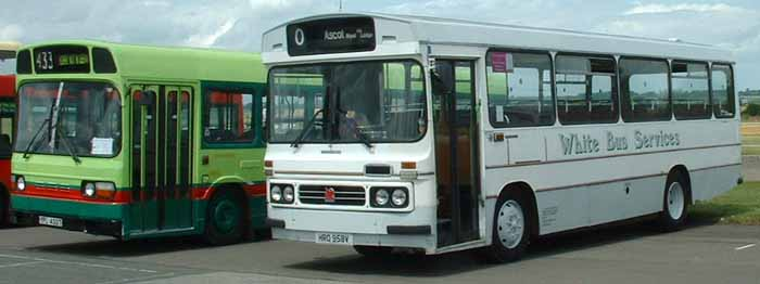 White Bus Services Bedford YLQ