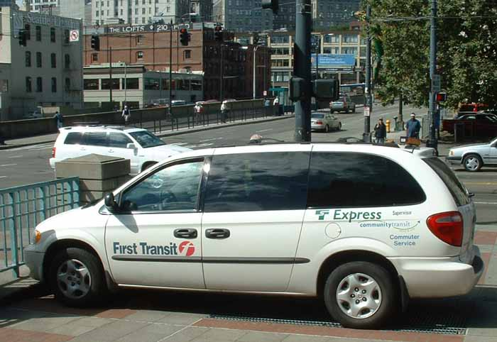 First Transit Supervisor's Dodge