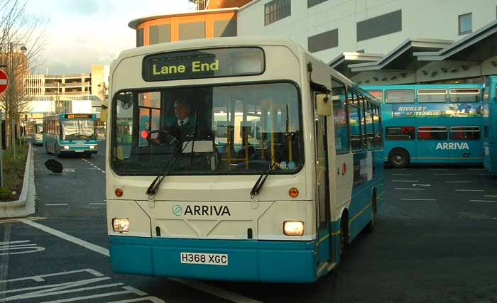 Arriva the Shires Dennis Dart Wright Handybus