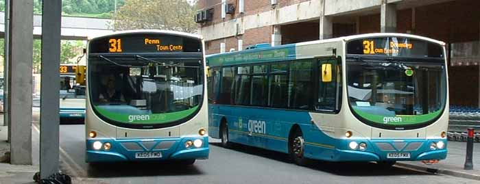 Arriva the Shires Volvo B7RLE Wright 3866 & 3861