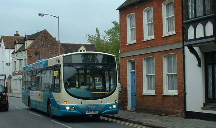 Arriva the Shires Volvo B7RLE Wright 3863