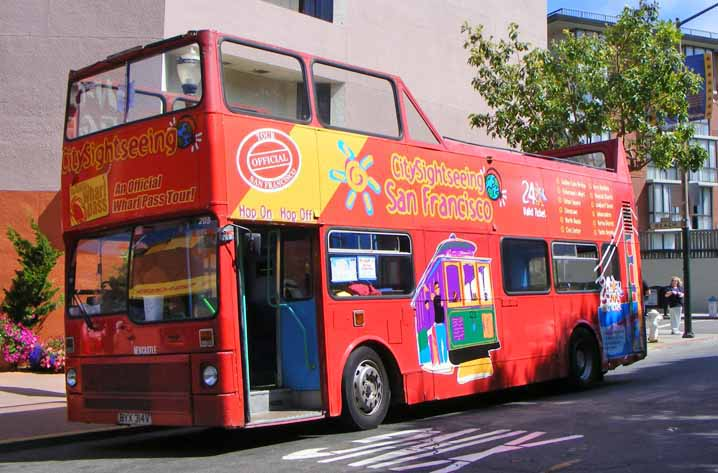 City Sightseeing San Francisco MCW Metrobus