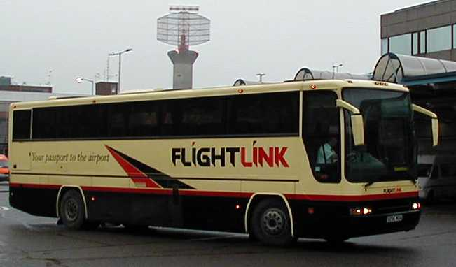 Flightlink Volvo B10M Plaxton