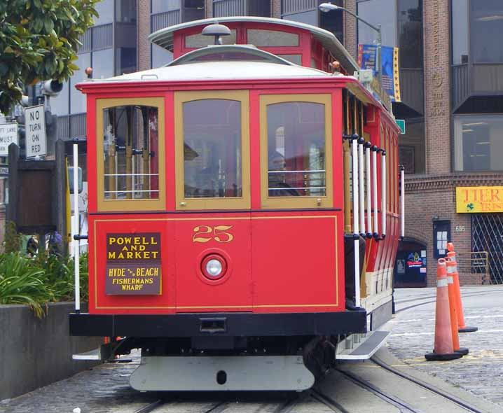 San Francisco cable car 25